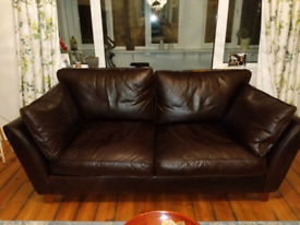 Marks and Spencer Large Barletta Leather Sofa