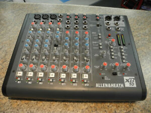 Allen & Heath XB10 Compact Broadcast Mixer
