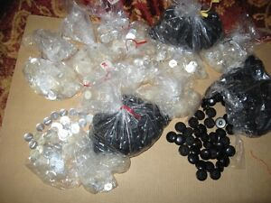 2 different type of buttons 150 in each bag for $1