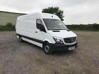 Mercedes-Benz Sprinter 314 LWB H/R EFFICEIENCY VAN EURO 6 DIESEL MANUAL (2016)