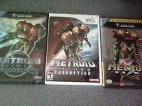 Metroid prime triology of games