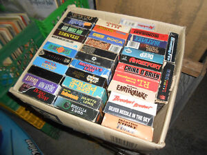 VHS Tapes $1 each - Horror, Sci Fi, Action