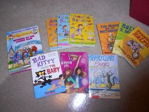 10 Childrens Books - Beverly Cleary Thea Stilton Amelia Bedelia