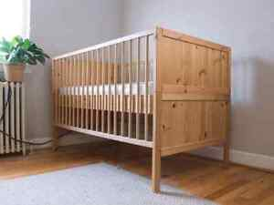 Ikea crib/toddler bed