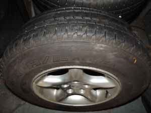 5 Wheels and Tires for Sale   Bridgestone Dueler H/L Alenza  225