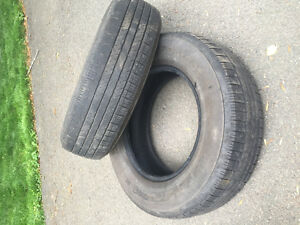 Two Continental All Season Tires