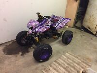 Road legal quad 2008 plate £600 project 90% finish no money require to finish swaps welcome