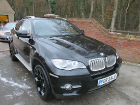 2010 (60) BMW X6 3.0D 40D 4X4 XDRIVE AUTO + JUST 52,000 MILES