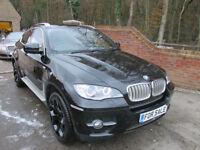 2010 (60) BMW X6 3.0D 40D 4X4 XDRIVE AUTO + JUST 52,000 MILES