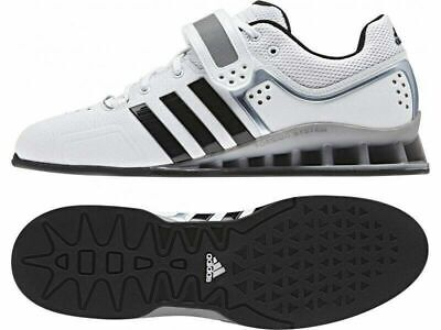 brand new ad127 a24fe New Men s SIZE 14 ADIDAS ADIPOWER Weight Lift Powerlifting Shoes White  BA7923