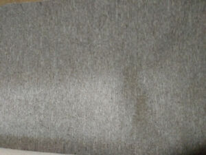 Carpeting and underlay