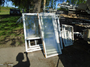 Used Exterior Doors & Windows Assorted Sizes Styles