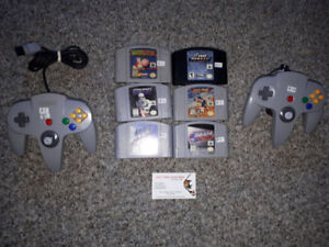 ** Nintendo 64 + PlayStation 1 Games, Controllers + More **