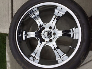 """22"""" Eagle Alloy Rims with tires"""