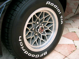 WS6 Snowflake Trans Am wheels
