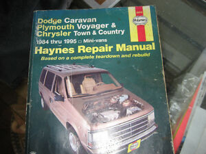 dodge caravan/plymouth voyager/chrisler town & country repair ma