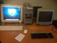 Apple iMac G3 and G4 systems