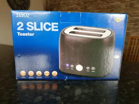 Brand New Black 2 Slice Toaster