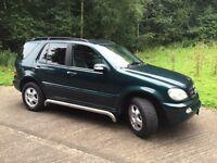 Mercedes ML270CDI, Rare 6 Speed Manual, MOTD, Chrome Side Steps, Drives Superb