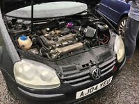 Golf Fsi 1.6 with Mk4 gti 1.8t engine convert (not registered)