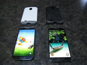 2 Samsung Galaxy S4 Phones