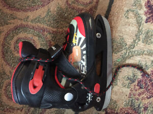 adjustable skates junior 12,13, and 1 ,2