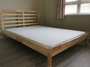 Full/Double bed (IKEA) with mattress