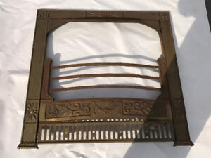 Cast Iron insert for fire place