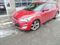2012 Hyundai Veloster Tech Pkg. Navigation. Panoramic Roof