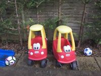 Little tikes cars x 2