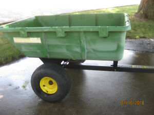 Heavy duty garden dump cart