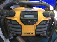 Dewalt Xr site radio