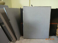 Office dividers (Grey, 5'x4')