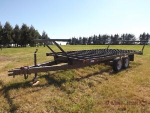 Round Bale Hauler  &  Combine  FOR  SALE