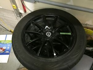 "Konig Feather 17x7.5""5x100 /114.3 & Kumho Ecsta XS 245/45R17"