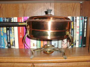 Copper Chafing Pan