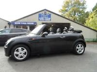 2007 57 MINI CONVERTIBLE 1.6 ONE 2D 89 BHP AIR CON PEPPER PACK CONVERTIBLE