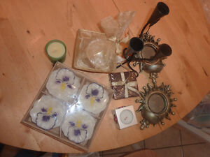 Various candle/tea light holders, NEW scented candles, etc... Kitchener / Waterloo Kitchener Area image 5
