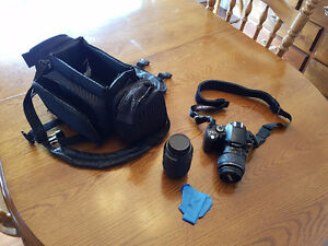 Must Sell Nikon D40 with 2 lenses