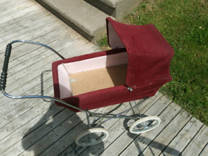 Old doll carriage