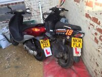 Spare or repair cause no mot or Doks