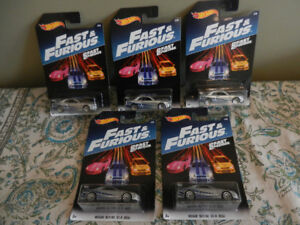 Hot Wheels 1:64 Nissan Skyline GT-R Fast and Furious Lot of 5