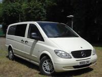 Mercedes-Benz Vito 2.1 111CDI 2005 Dualiner Basic Long Wheel Base ** 6 SEATER *