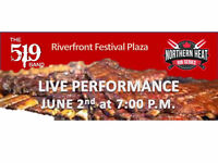 THE 519 BAND will be at the Windsor Rib Fest