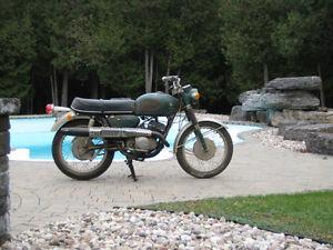 1960's Suzuki Scrambler 250 twin two stroke
