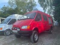 Former Fire Service 4x4 Panel Van