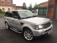 2005 05 RANGE ROVER SPORT 2.7 TDV6 AUTO HPI CLEAR SEVICE HISTORY £8795 PX s3 GTI GOLF BMW SEAT