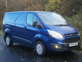2014(64) Ford Transit Custom Trend 125bhp Euro 5, DEEP IMPACT BLUE, FINANCE??