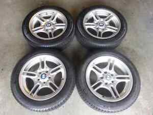 Michelin X-Ice Winter Tires on BMW Style 66 Rims