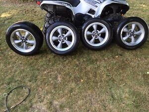 Mustang Rims with Newer Tires